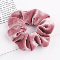 Velvet Ponytail Hairband-Hair Clips-online-Light Pinkish-hair-extensions-wigs.com