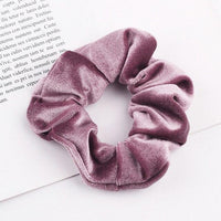 Velvet Ponytail Hairband-Hair Clips-online-Light Purple-hair-extensions-wigs.com