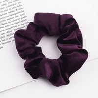 Velvet Ponytail Hairband-Hair Clips-online-Purple-hair-extensions-wigs.com