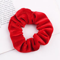 Velvet Ponytail Hairband-Hair Clips-online-Red-hair-extensions-wigs.com