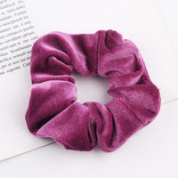 Velvet Ponytail Hairband-Hair Clips-online-Rose-hair-extensions-wigs.com