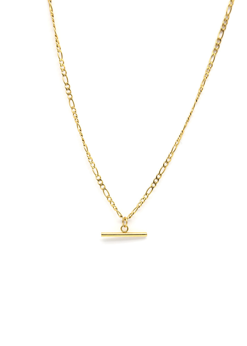 Lure 18K Gold Plated Pendant Necklace