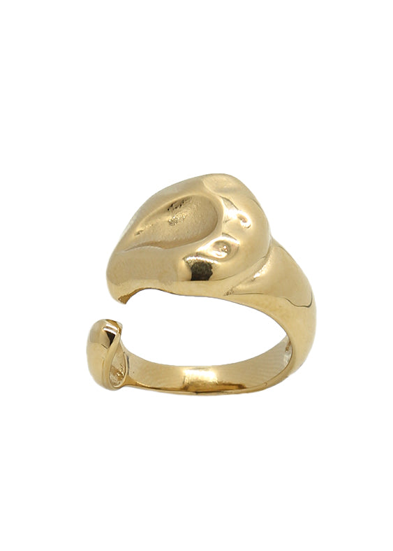 Grand 18K Gold Plated Ring