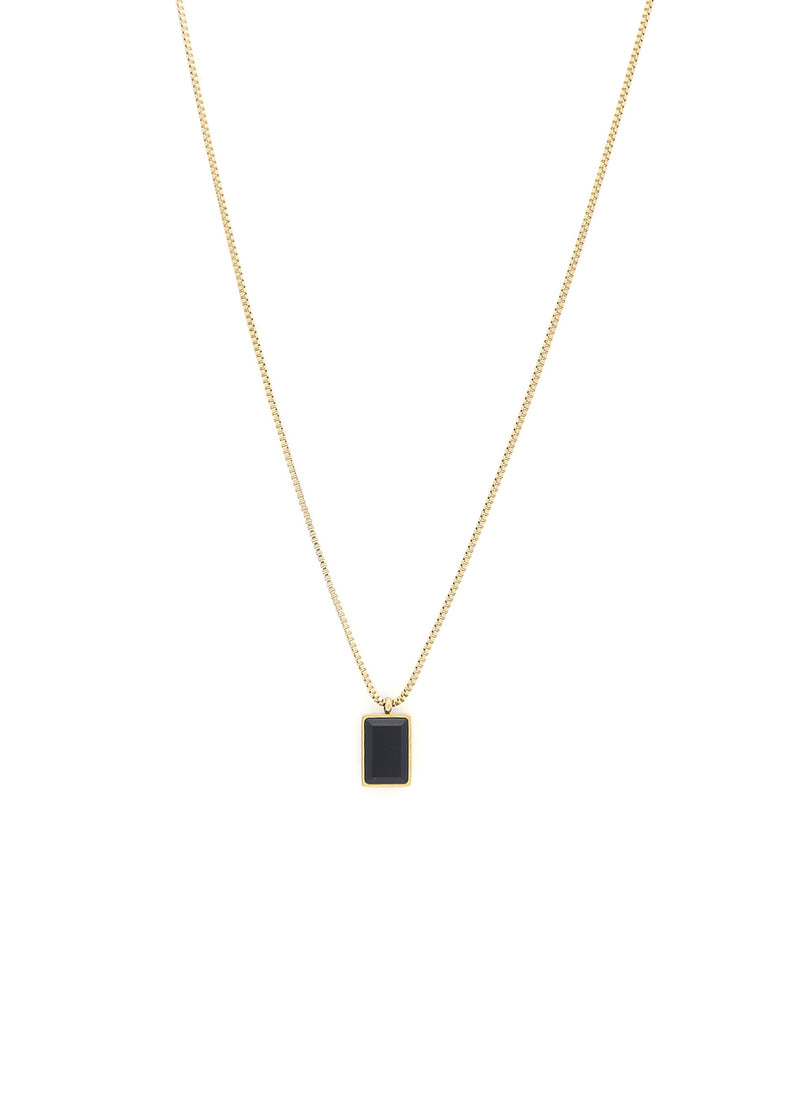 Opulent 18K Gold Plated Pendant Necklace