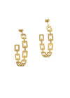 Element 14K Gold Plated Earrings