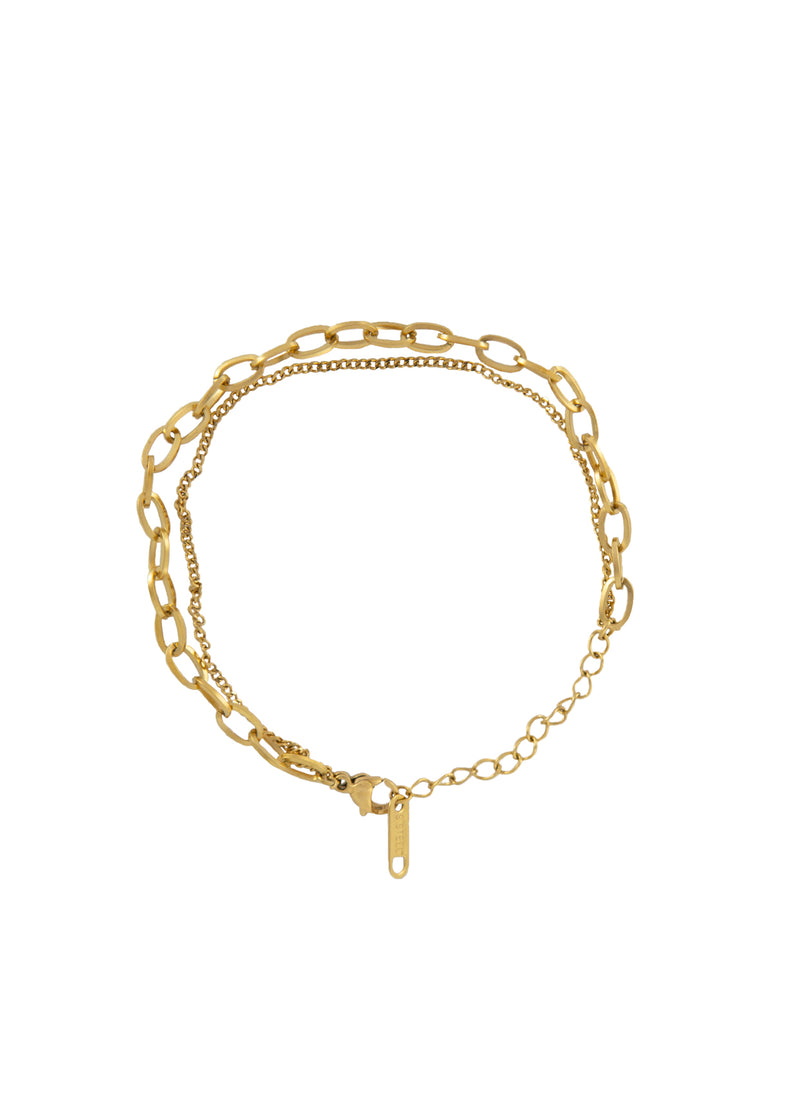 Companion 14K Gold Plated Bracelet