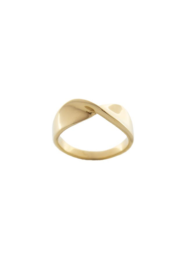 Silk 14K Gold Plated Ring