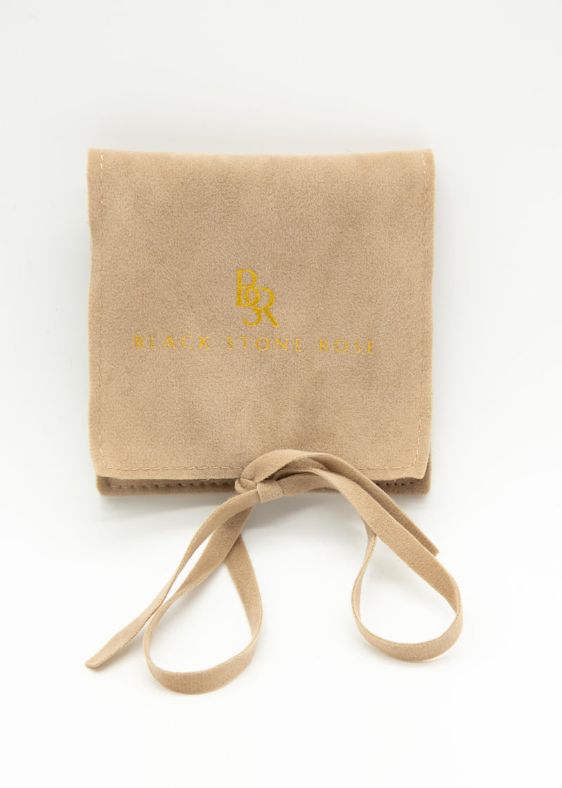Suede Jewellery Travel Pouch