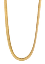 Thick Snake 18K Gold Plated Chain Necklace