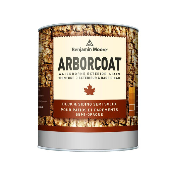 ARBORCOAT WB Stain - Semi Solid Flat (K639)