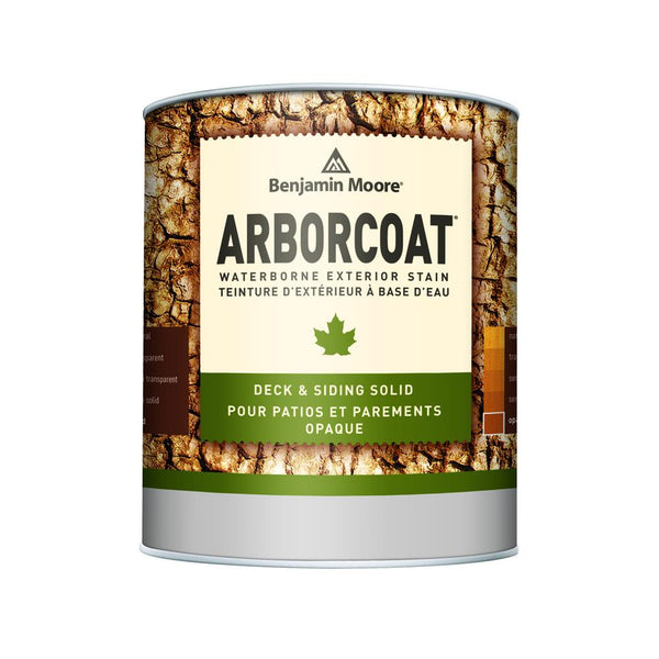 ARBORCOAT WB Stain - Solid Matte (K640) - White