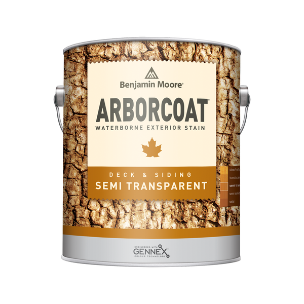 ARBORCOAT WB Stain- Semi Transparent Flat (F638)