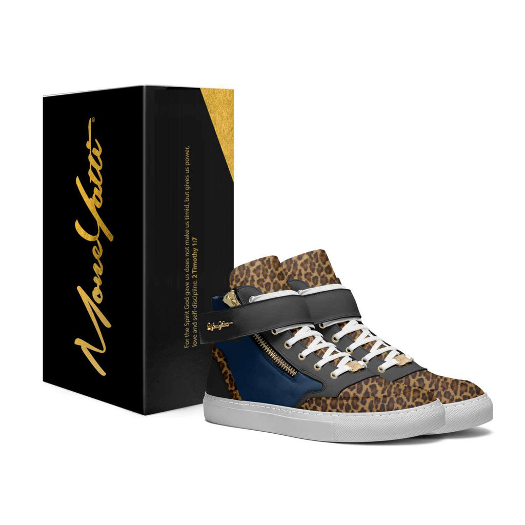 CLASSICS - BLUE AND BLACK CHEETAH