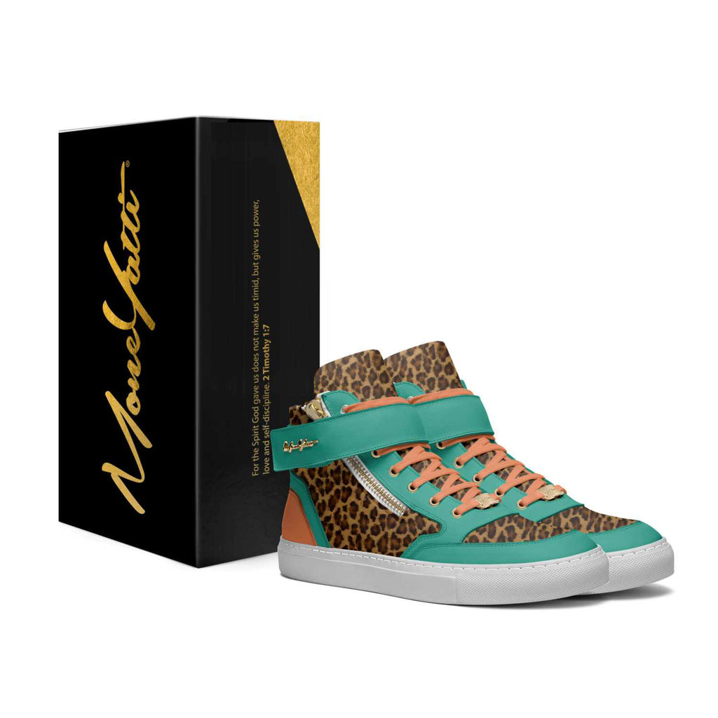 CLASSICS - AQUA ORANGE CHEETAH