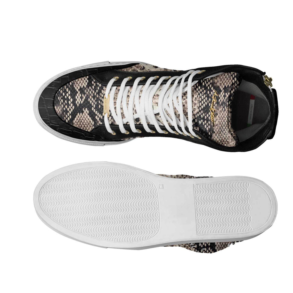 LIMITED - BLACK SNAKESKIN