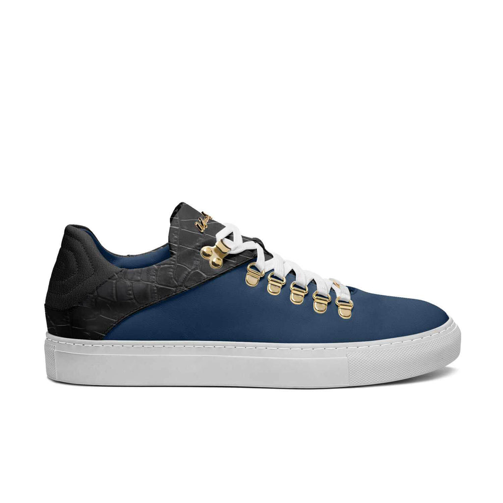 DRIP WALKERS - BLUE SUEDE BLACK
