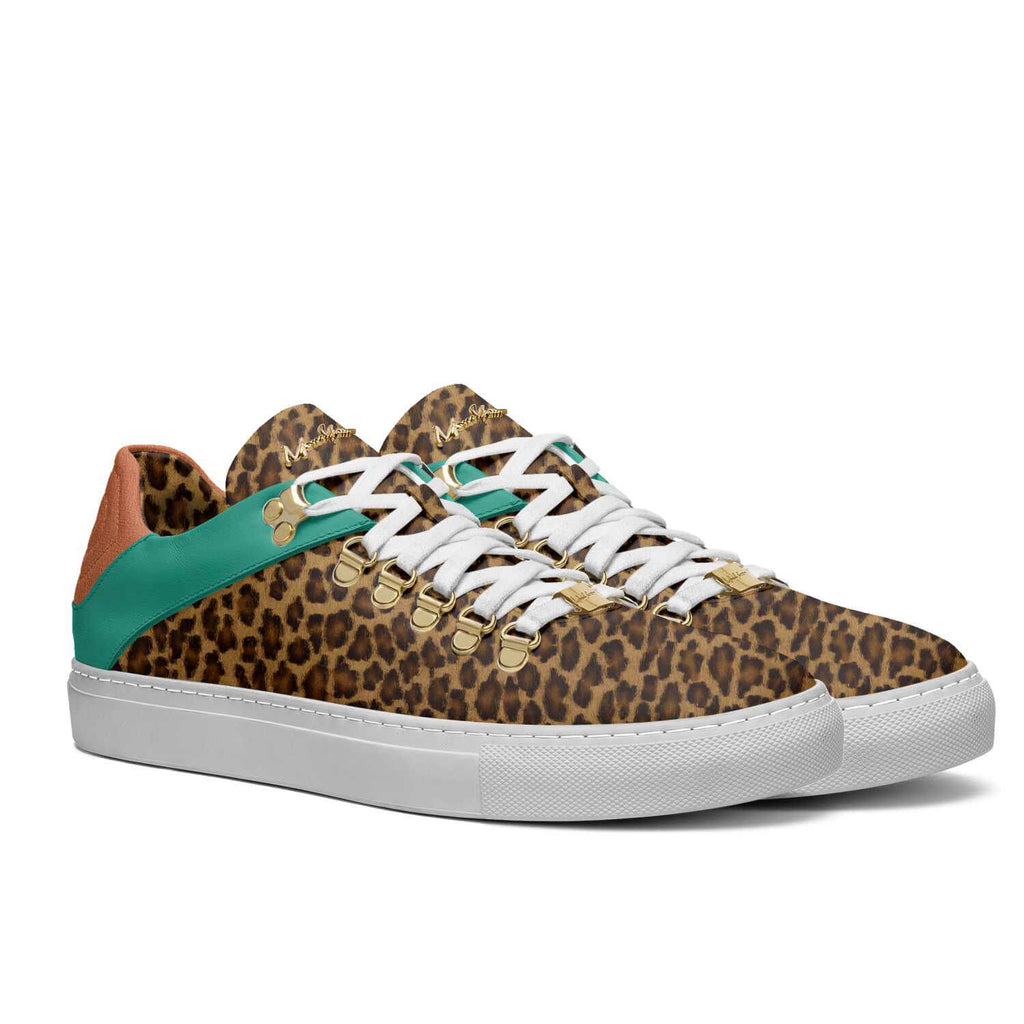 DRIP WALKERS - AQUA ORANGE CHEETAH