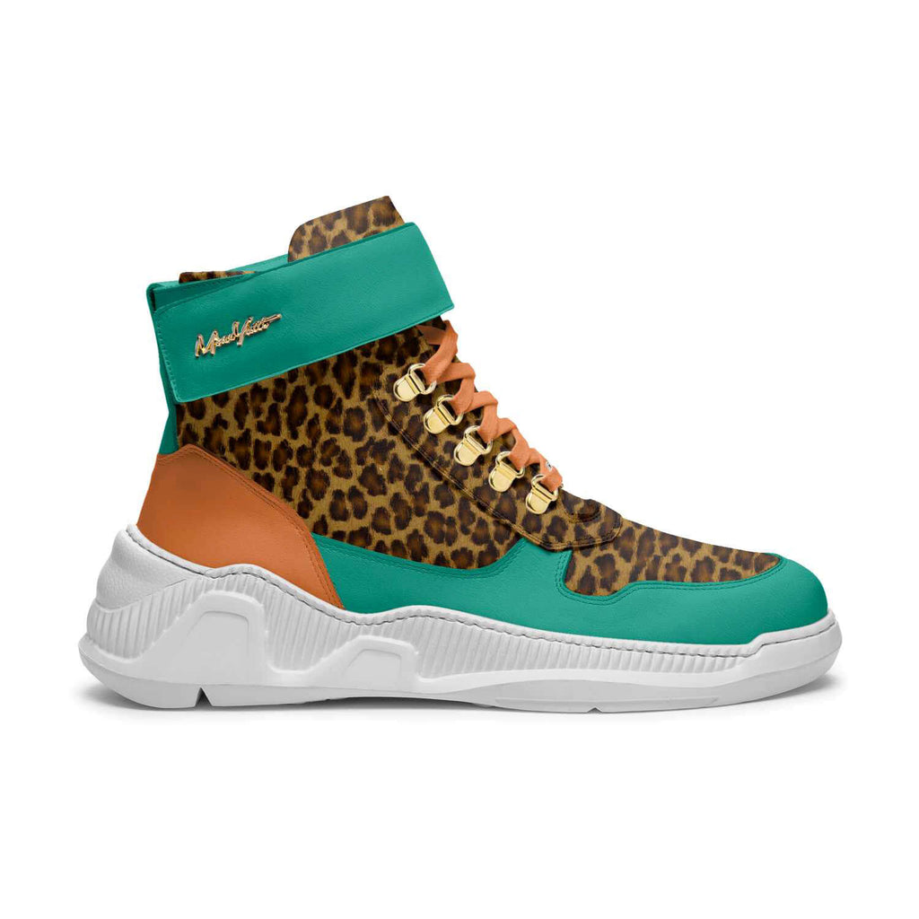 TRAPS - AQUA ORANGE CHEETAH