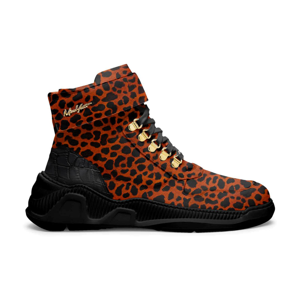 "TRAPS - ORANGE CHEETAH BLACK ""BEAST MODE"""