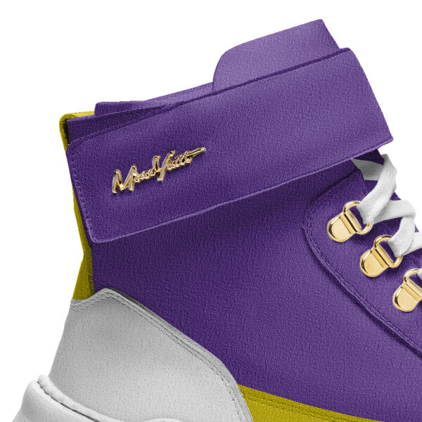 TRAPS - LAKERS PURPLE YELLOW SUEDE