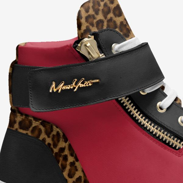 CLASSICS - RED AND BLACK CHEETAH