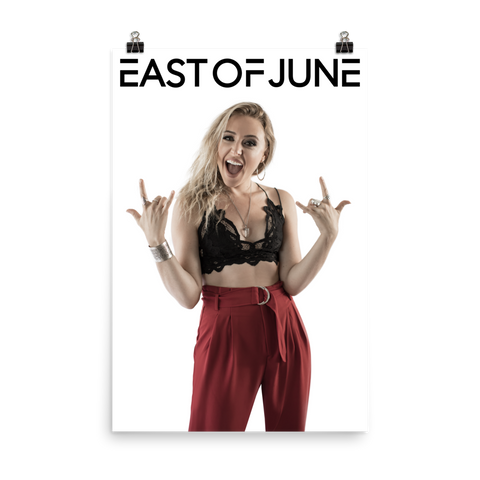 "East of June Emily 24"" x 36"" Poster"