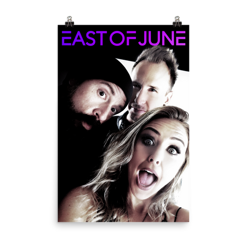 "East of June 24"" x 36"" Poster"
