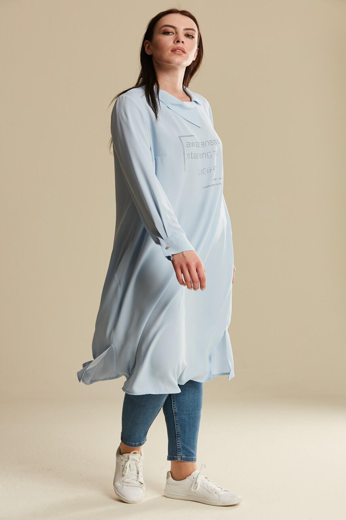 Women's Oversize Long Sleeves Tunic