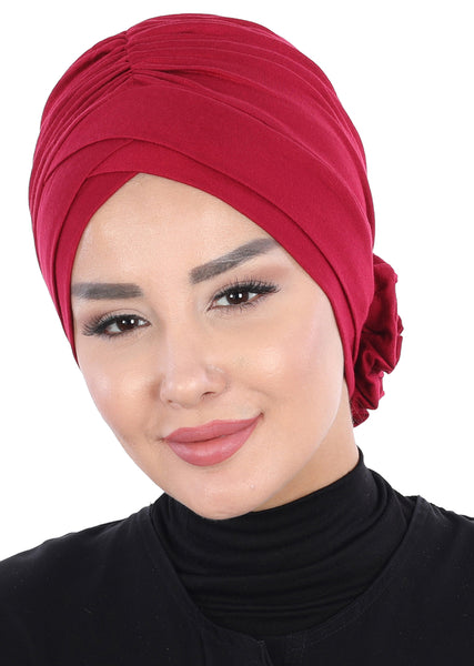 Women's Combed Cotton Bonnet