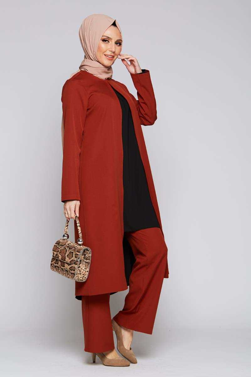 Women's Ginger Modest Jacket & Pants Set