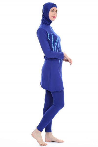 Women's Long Sleeves Lycra Modest Swimwear