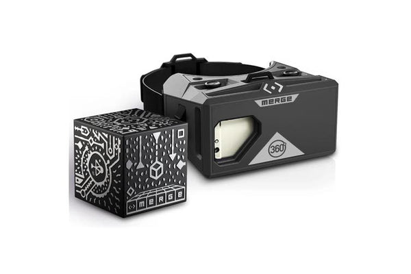 Merge VR Mobile AR/VR Headset & Merge Holographic Cube Bundle