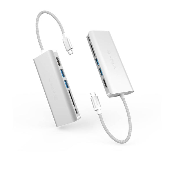 Adam Elements USB-C 3.1 - 6 port Hub / Silver