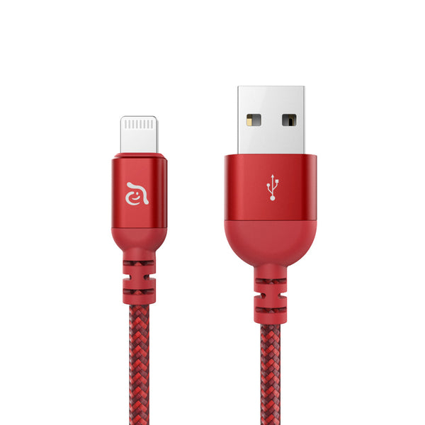 Adam Elements USB-A to Lightning cable 120 cm / Red
