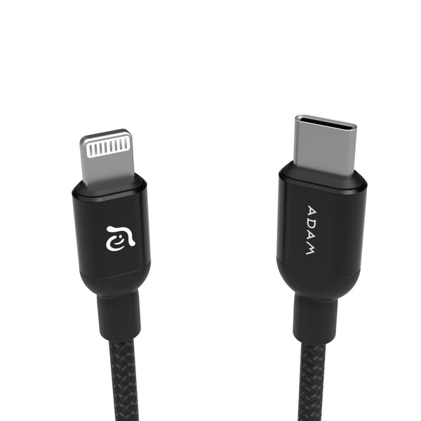 Adam Elements USB-C to Lightning cable 120 cm / Black