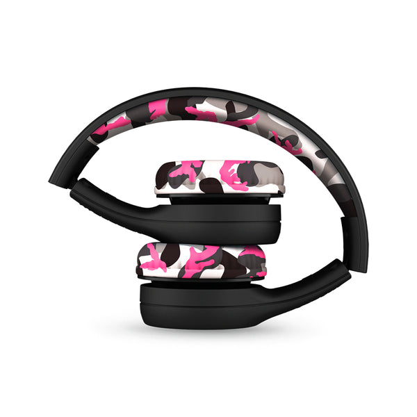 LilGadgets Connect+ Style Children's Wired Headphones - Pink Camo