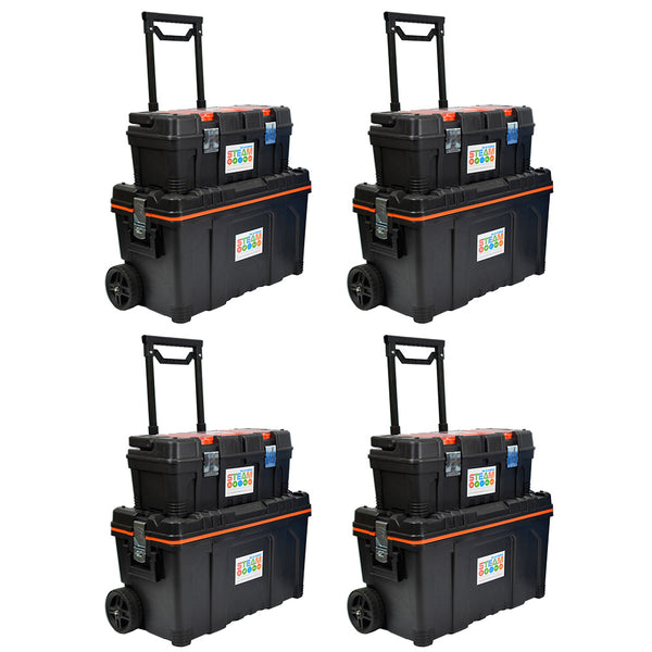 2 x Portable Lockable STEAM Storage With 2 Portable Lockable STEAM Storage Kits