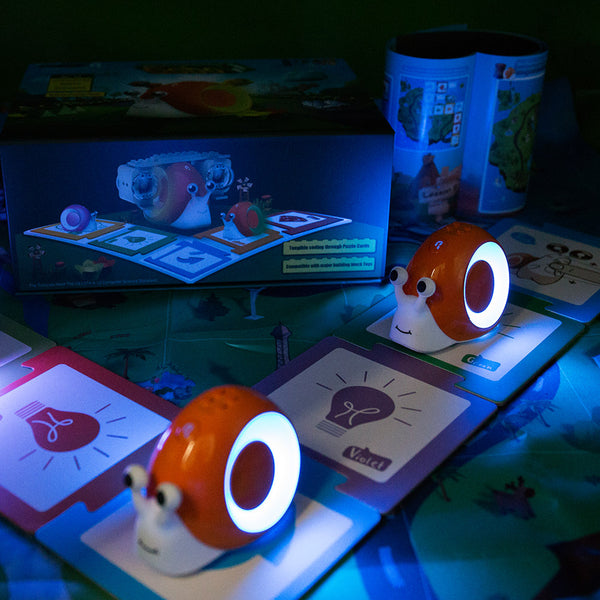 12 x Robobloq Qobo Smart Snail with 1 Free Storage Kit
