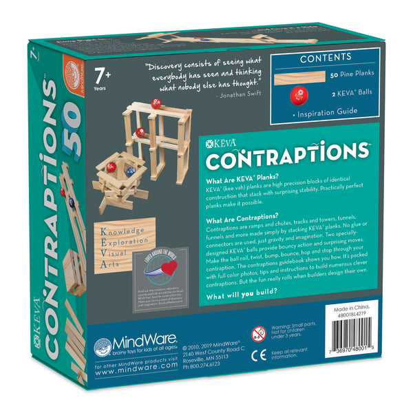 KEVA: Contraptions 50 Piece Plank Set