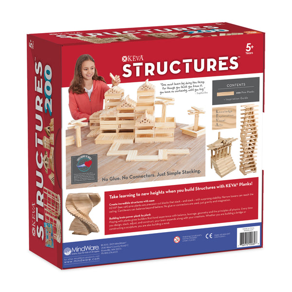 KEVA: Structures 200 Plank Kit