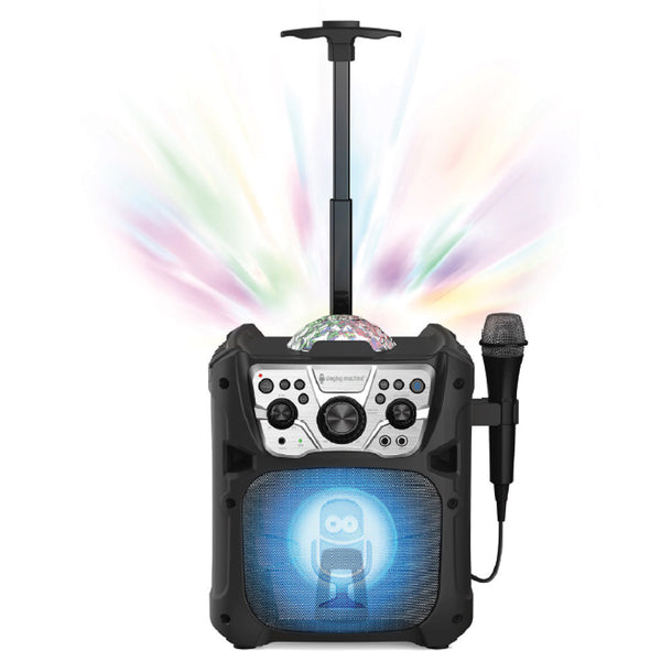 Singing Machine Mini Fiesta- Bluetooth® + Light Show