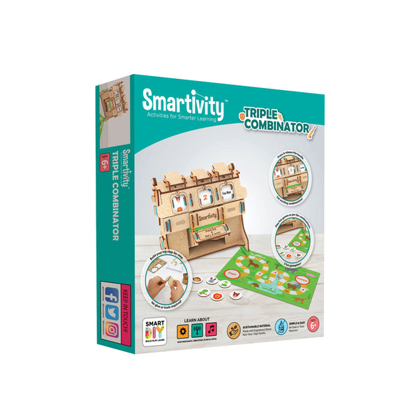 Smartivity Triple Fun combinator