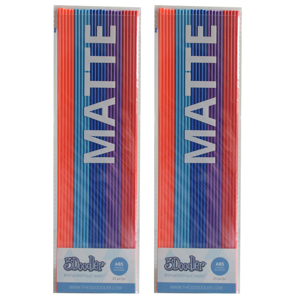 3Doodler Create ABS Plastic Bohemian Blend-2pack