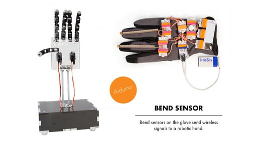 littleBits Bend Sensor