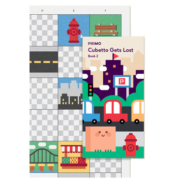 Primo Toys Adventure pack Map & Story Book - Big City