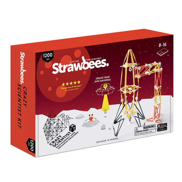 Strawbees - Crazy Scientist Kit