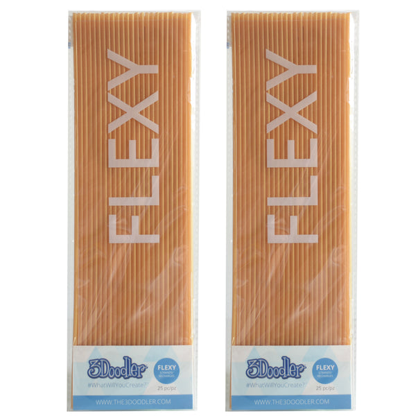 3Doodler Create FLEXY Plastic Flexy Gold-2pack