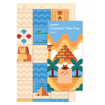 Primo Egypt map and story book