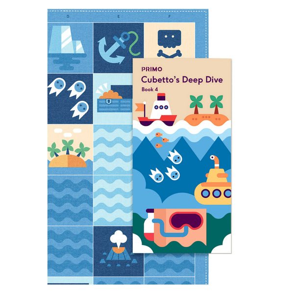 Primo Ocean Map and story book