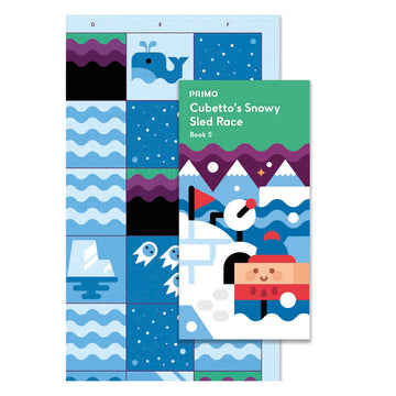 Primo Toys Adventure Pack Map & Story Book - Polar Ice